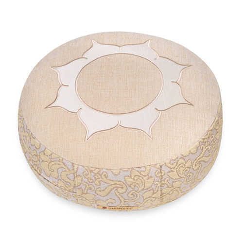 Round cushion SHAKTI – 40x14cm – Lotus – various colours