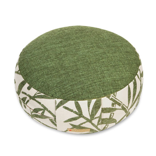 Round cushion BAMBOO – green – various sizes