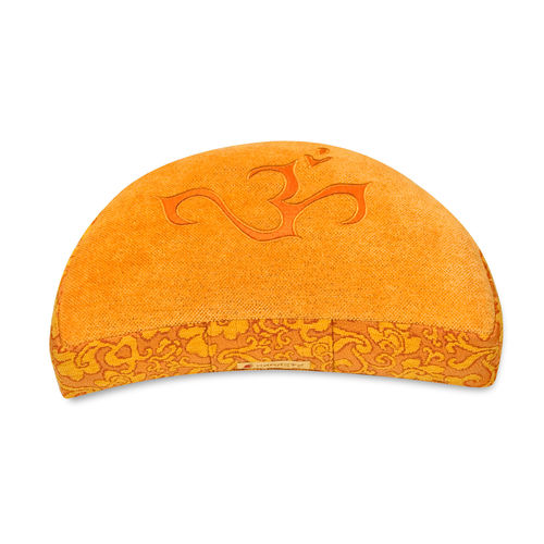 Crescent cushion SHAKTI – OM – various colours