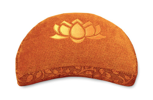 Crescent cushion SHAKTI – Lotus – various colours
